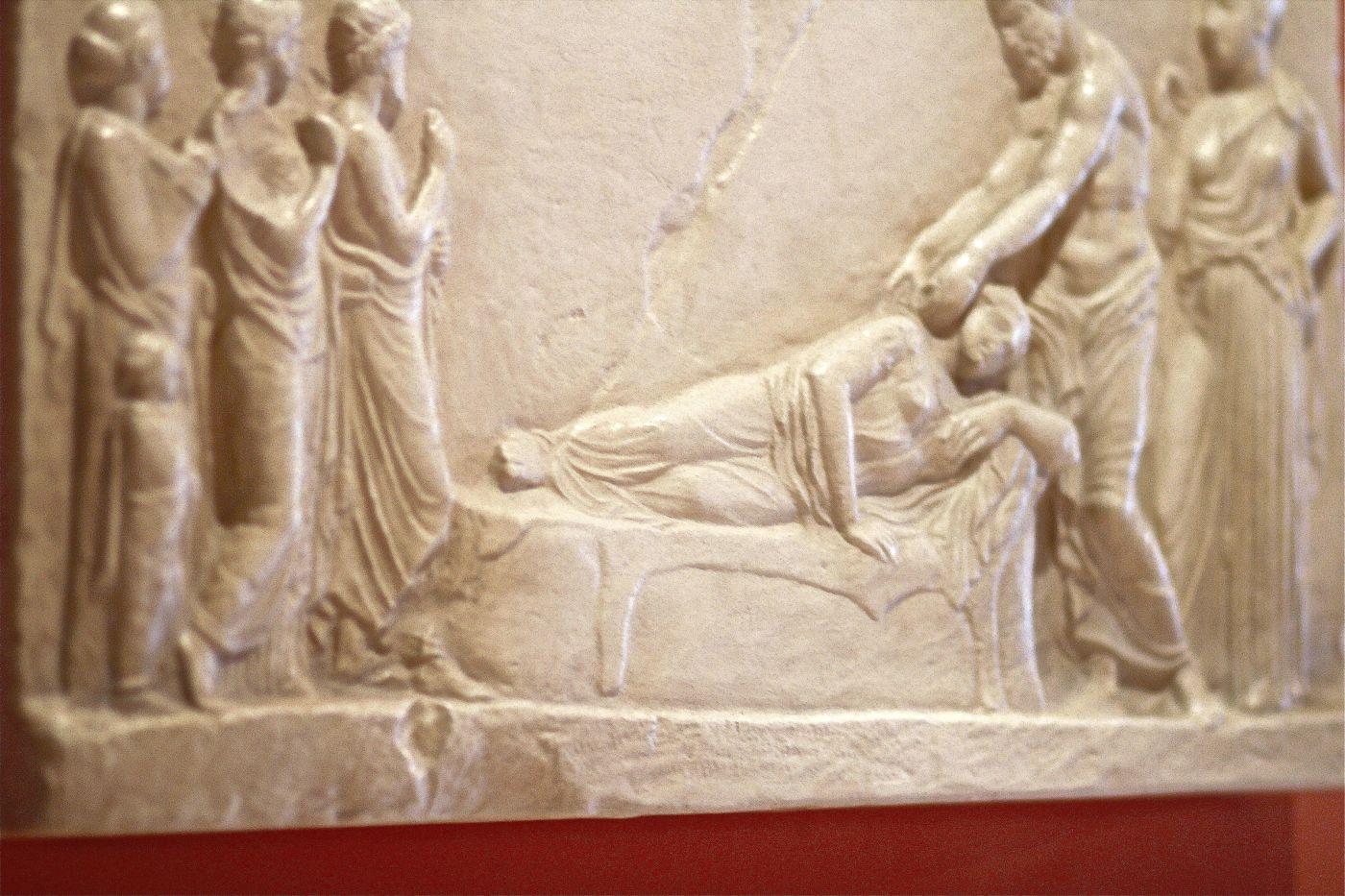 Statue Asclépios