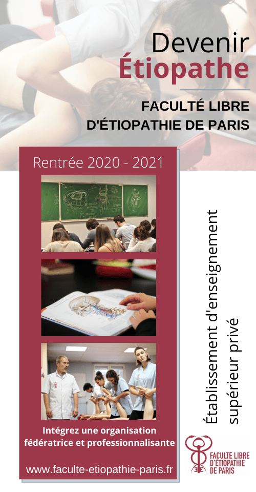 FACULTÉ LIBRE D'ÉTIOPATHIE DE PARIS